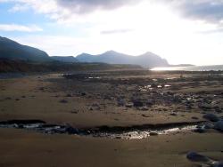 Clynnog Fawr beach
