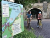 Cycling from Caernarfon to Llyn Ogwen on the Gwynedd Recreational Routes