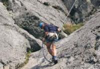 Climbing near Bala