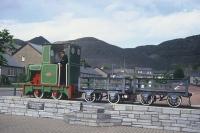 Slate train at Blaenau Ffestiniog