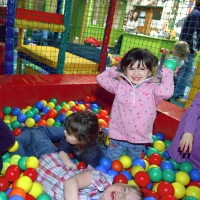 Soft play at Glasfryn