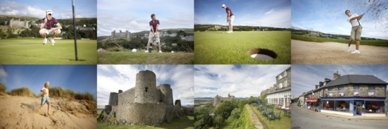 Harlech - for golfers and non-golfers