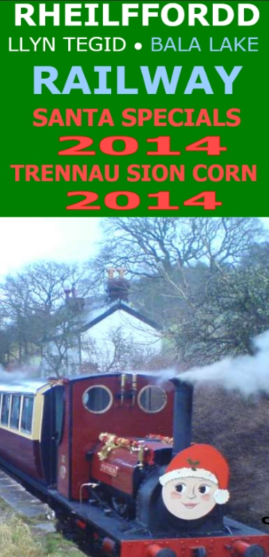 Bala Lake Railway Christmas trains